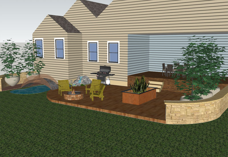 Backyard Sketchup