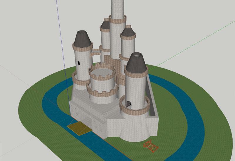 Castle Sketchup